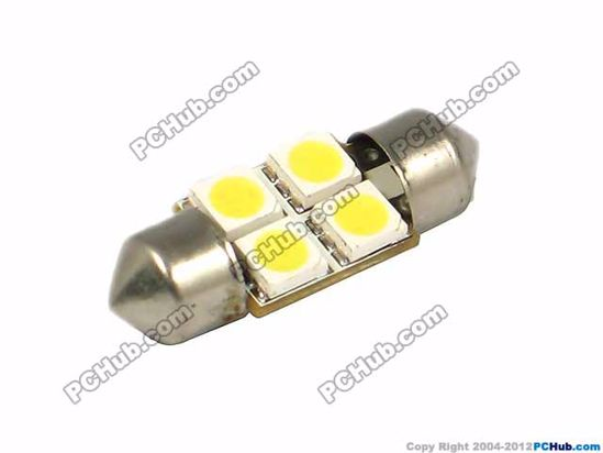76012- Festoon. 4 x 5050 SMD LED. White