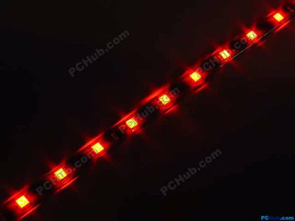 76033- DIY LED Auto Lamp. 12 x 5012 SMD Red LED