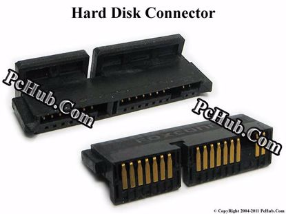 """Picture of HP EliteBook 2540p Series HDD Caddy / Adapter """"NEW OEM"""", 1.8"""" SATA SSD Hard Disk Drive Connector"""