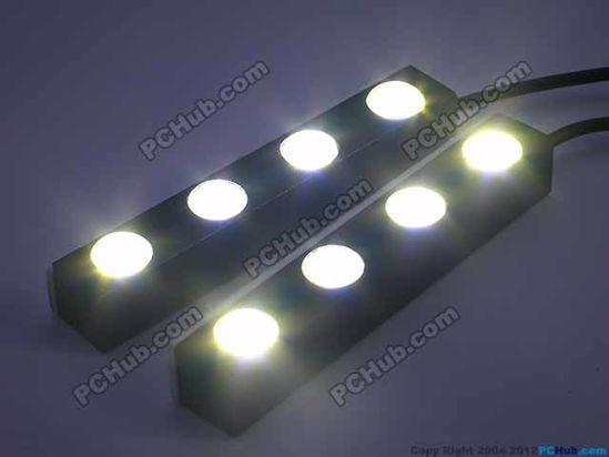 76739- 100% Waterproof. 4 x White LED