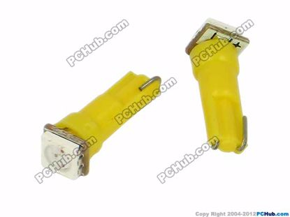 76788- Wedge. 1pcs 5050 SMD Yellow LED