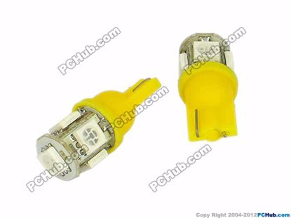 76807- Wedge. 5 x 5050 SMD Yellow LED