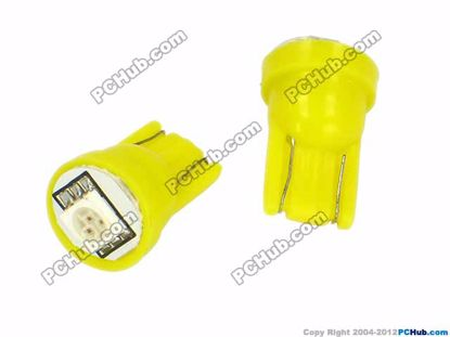 76816- Wedge. 1pcs 5050 SMD Yellow LED