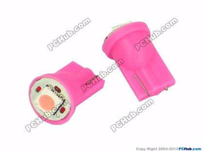 - Wedge. 1pcs 5050 SMD Pink LED