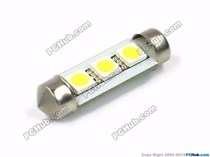 3x5050 SMD LED, Lenght=36mm, White light