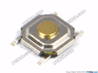 SMD Button. 5x5x1.5mm Height