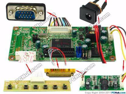OECTLE006, 1280x800 , 30-pin