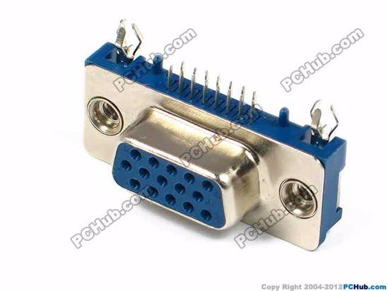 DB-15. tow-row, 15-pin