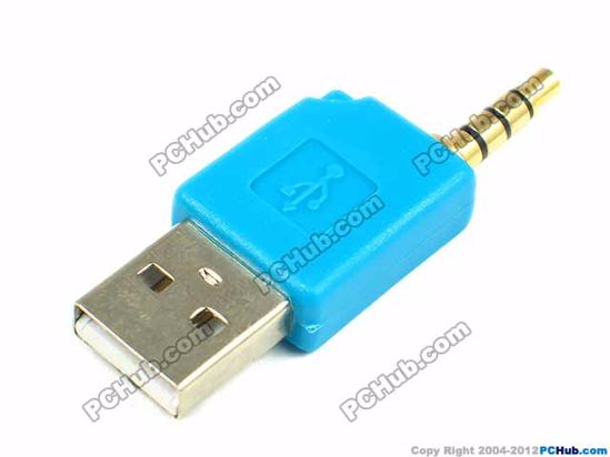 For Apple iPod shuffle. Blue color