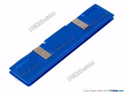 Aluminium. Blue color