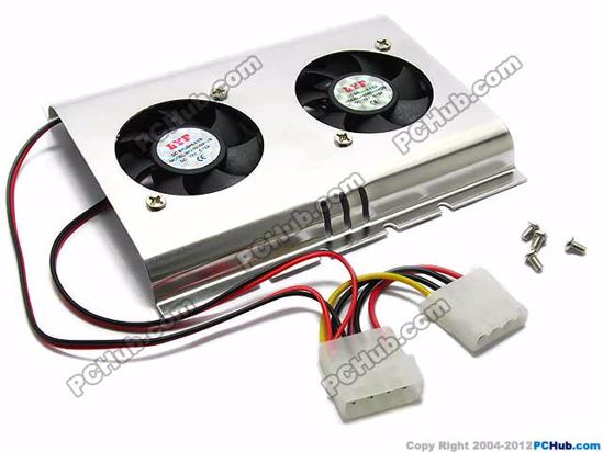 With Dual Fan. 4-pin connector