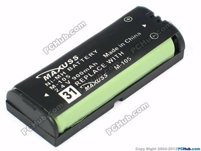 31 M-105. 2.4V 900mAh for Cordless Phone