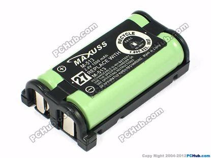 27 M-513. 2.4V 1500mAh for Cordless Phone