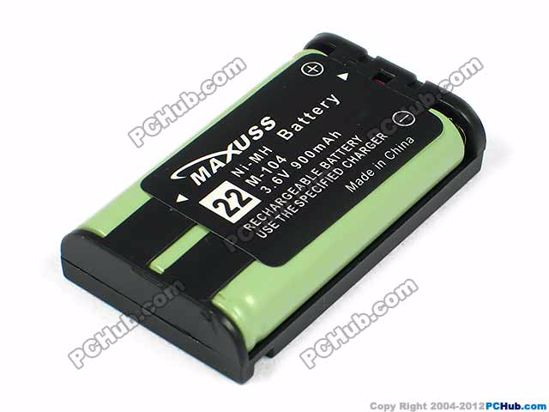 22 M-104. 3.6V 900mAh for Cordless Phone