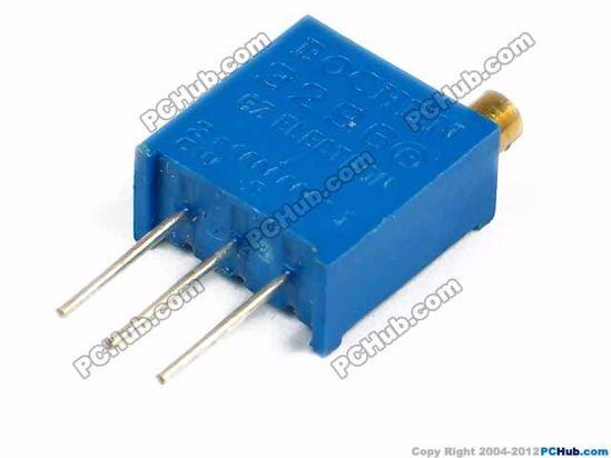 3296W101. W101. 3-pin DIP