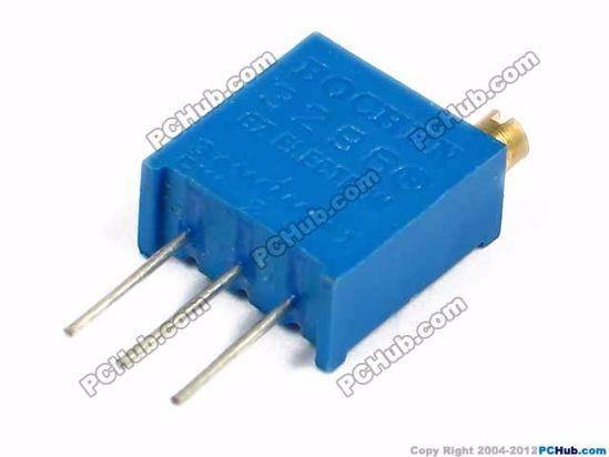 3296W202. W202. 3-pin DIP
