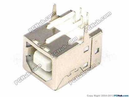 printers, scanner USB Jack. White. 16x12x11mm