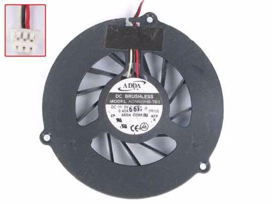 cpu  fan Cooler  ADDA AD5605HB-TB3 CWY61 Y61//Y61C Fan