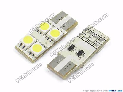 T10. 4x5050 SMD White LED
