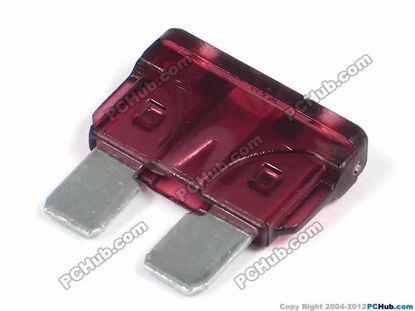 ATO. Wine-Red 40A 32VDC 19.1x18.5mm. Fast Acting