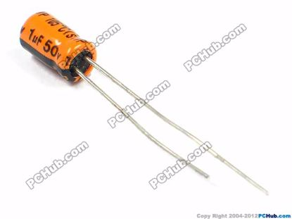 50v 1uF, 4x7mm Height
