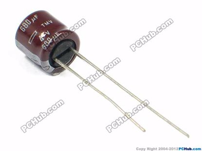 4v 680uF, 8x8mm Height