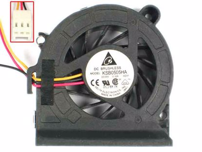 E1033H12B8AP-54 12V 0.77A 3Wire DC Blower Fan