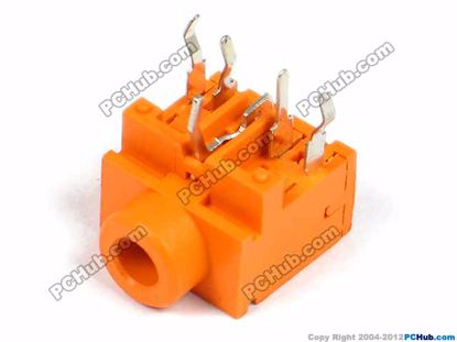 PJ-317, DIP 5-pin, Orange