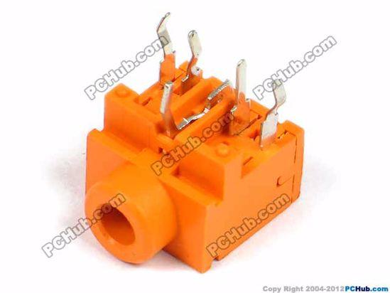 PJ-317, DIP 5-pin, Orange