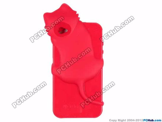 For  iPhone 4 /4S, Red color