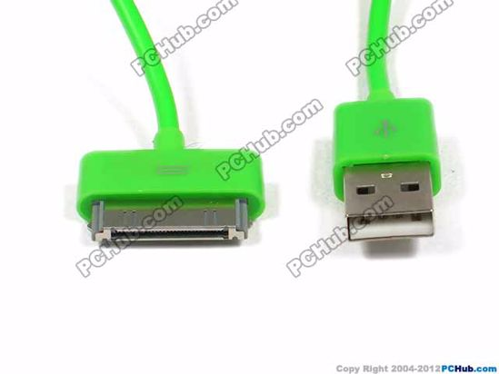 Picture of Gift For iPhone USB- Cord Charger for All iPod/iPhone 2G/3G/3GS - 1meter.Green