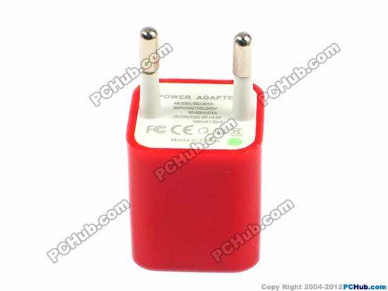 BD-301A, EU Plug, Red