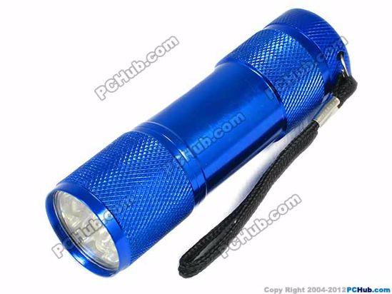 Blue. Power by 3 x AAA Battery