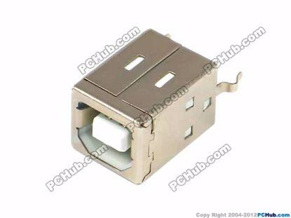 Printers or scanner USB Jack, White, 16mm Length