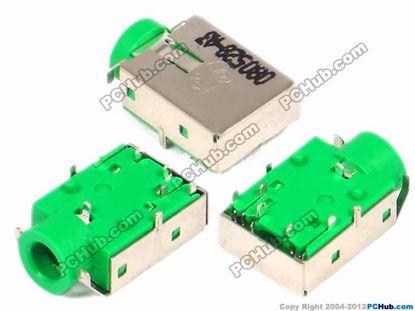 14x9.5x5mm, Green