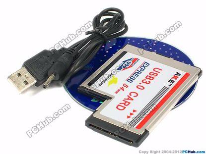 AKE, TWo USB3.0 Ports