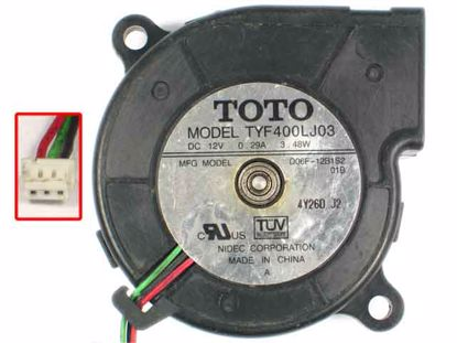 TYF400LJ03, D06F-12B1S2, 01B