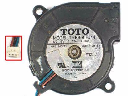 TYF400FJ14, D06F-12B1S1, 05A