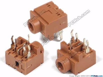 PJ-317, DIP 5-pin, Brown