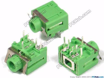 DIP 5-pin, Green