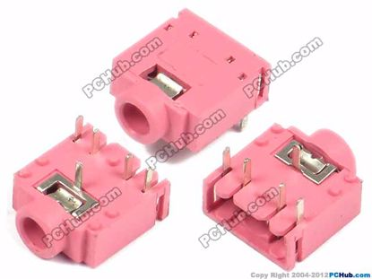 Pink, 14x12x6mm Height (Exclude fixed leg)