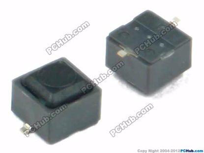 6x6x5mm, Black