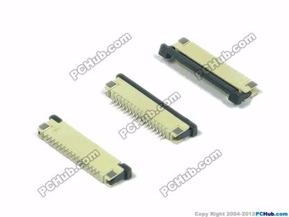 16-pin, 1.0mm Pitch, H=2.5mm, SMT type