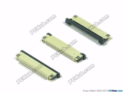 18-pin, 1.0mm Pitch, H=2.5mm, SMT type