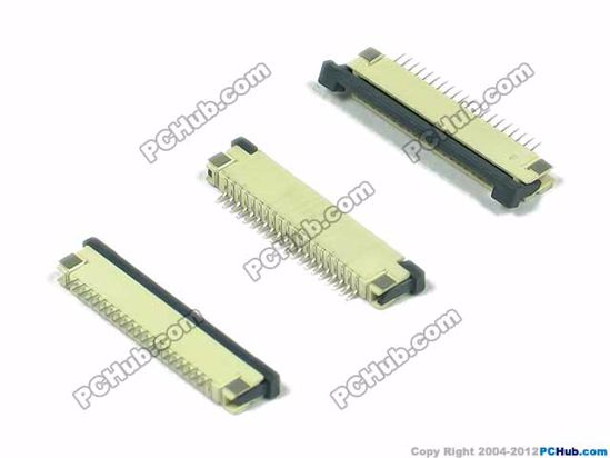 20-pin, 1.0mm Pitch, H=2.5mm, SMT type