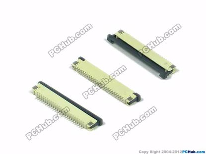 24-pin, 1.0mm Pitch, H=2.5mm, SMT type
