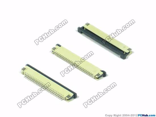 25-pin, 1.0mm Pitch, H=2.5mm, SMT type