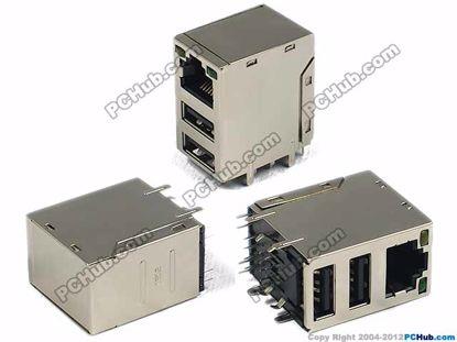 RJ45+USB2.0
