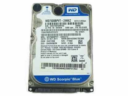 WD7500BPVT