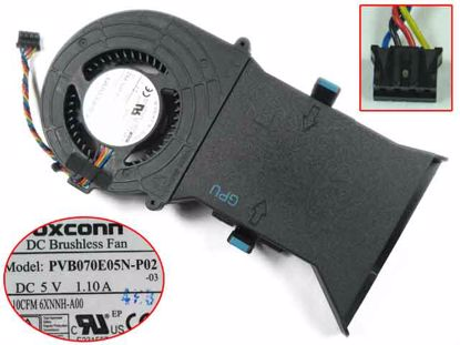 NEW CPU+GPU COOLING FAN 6XNNH-A00 XH2YX-A00 FOR Dell Alienware Alwar-2508 Alpha